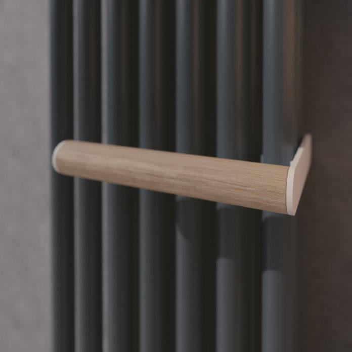 Portasalviette destro in legno